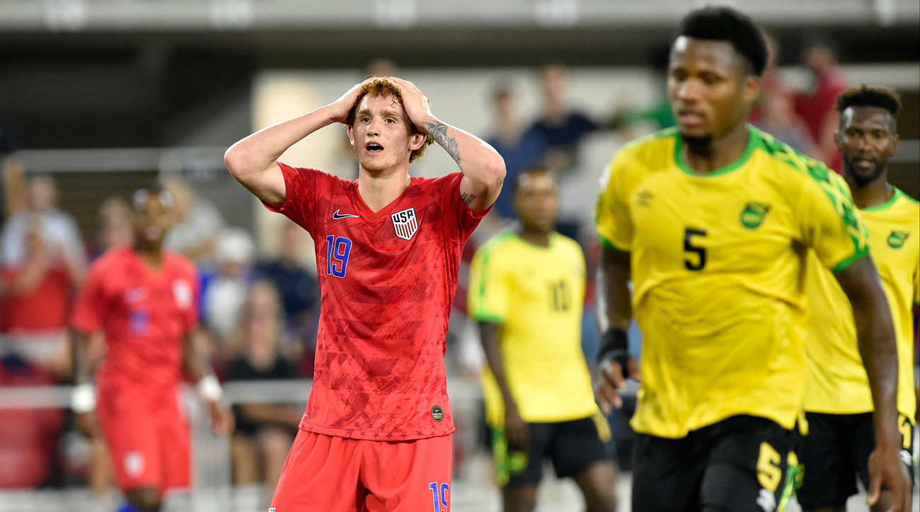 Josh Sargent and the USMNT fell to Jamaica in a pre-Gold Cup friendly