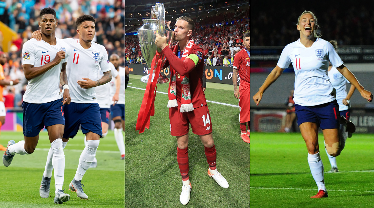 England's men and women are thriving, while Liverpool won the Champions League
