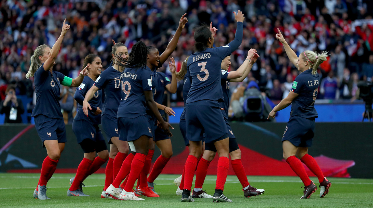 France scores vs. South Korea at the Women's World Cup