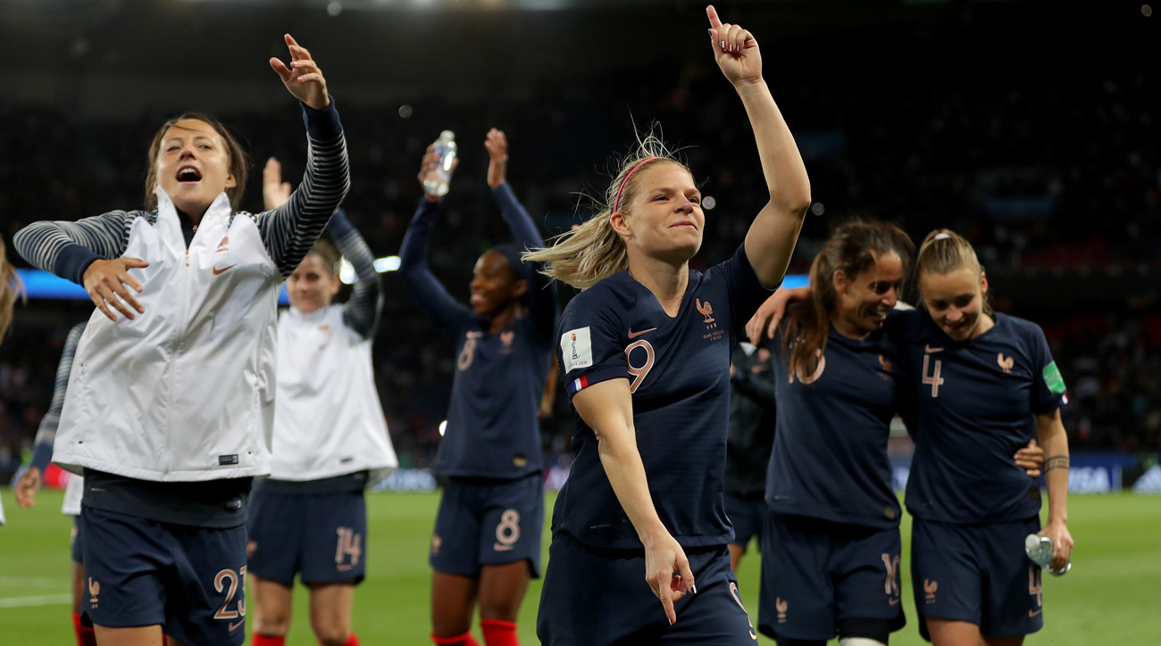France routs South Korea to open the Women's World Cup