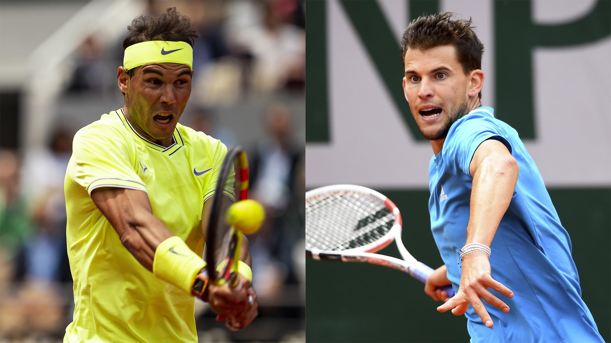 Rafael Nadal Dominic Thiem Roland Garros french open