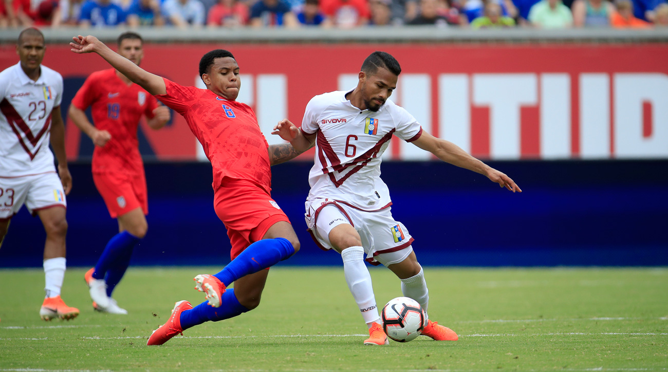 Venezuela and the USMNT face off in a friendly