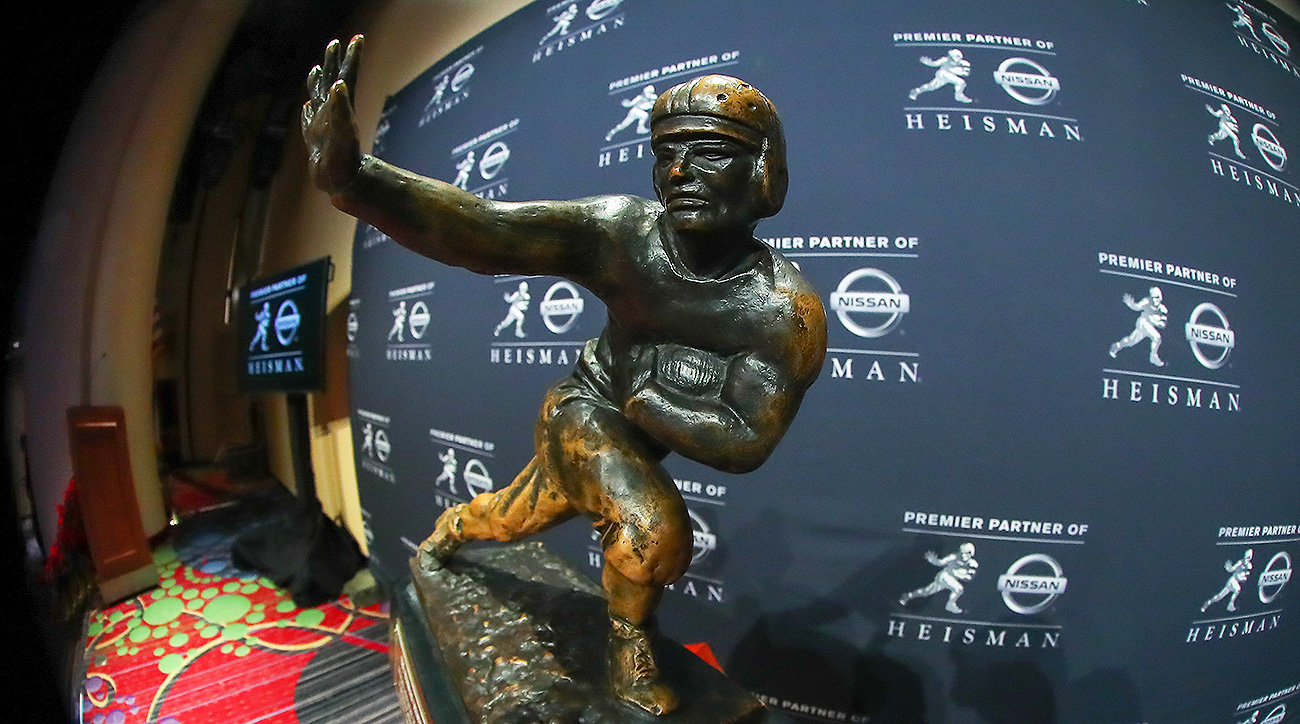 Heisman Trophy 2019 candidates Tua Tagovailoa Trevor Lawrence Jalen Hurts Jake Fromm