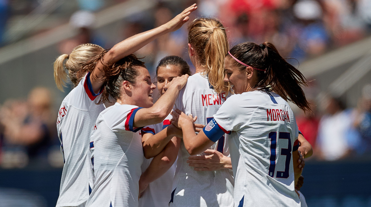 The U.S. women's national team faces Thailand to open play at the 2019 Women's World Cup