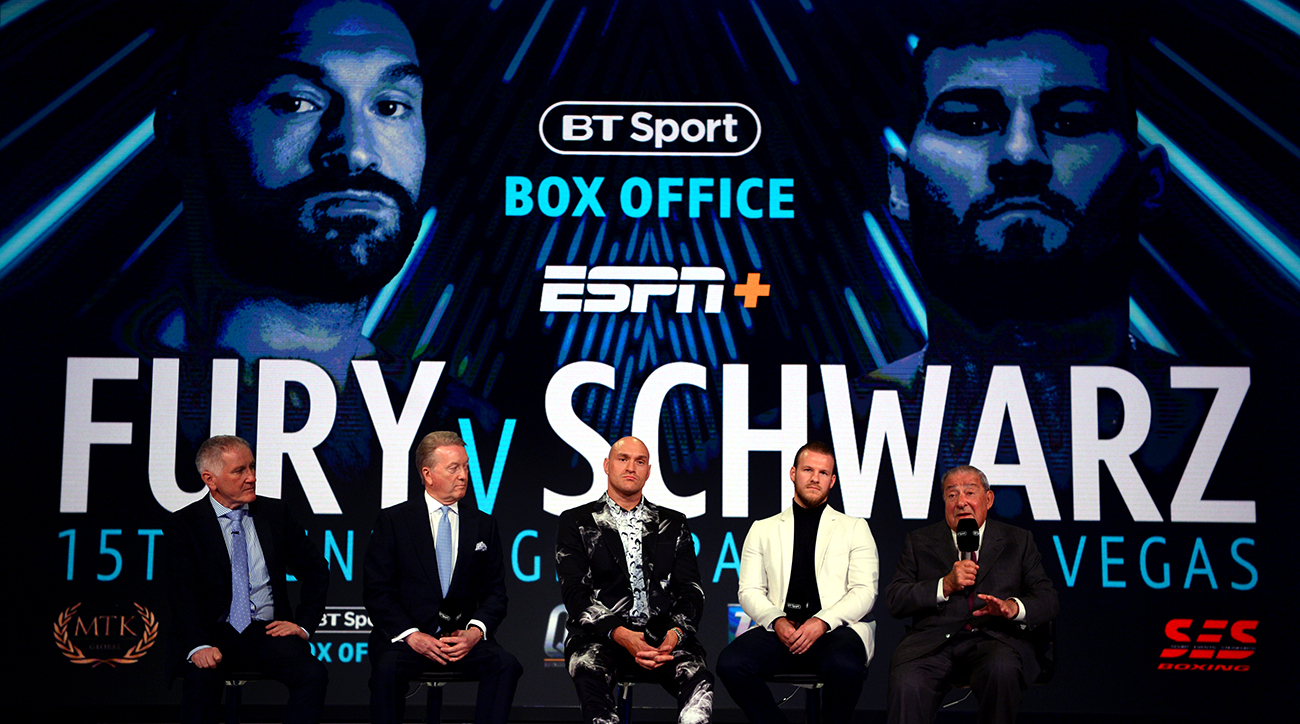 Tyson Fury vs. Tom Schwarz watch