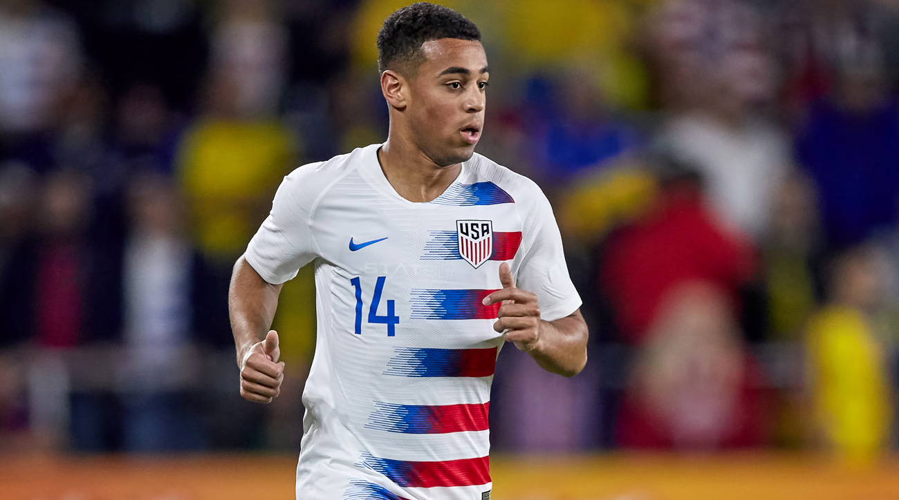 Tyler Adams is out for the Gold Cup
