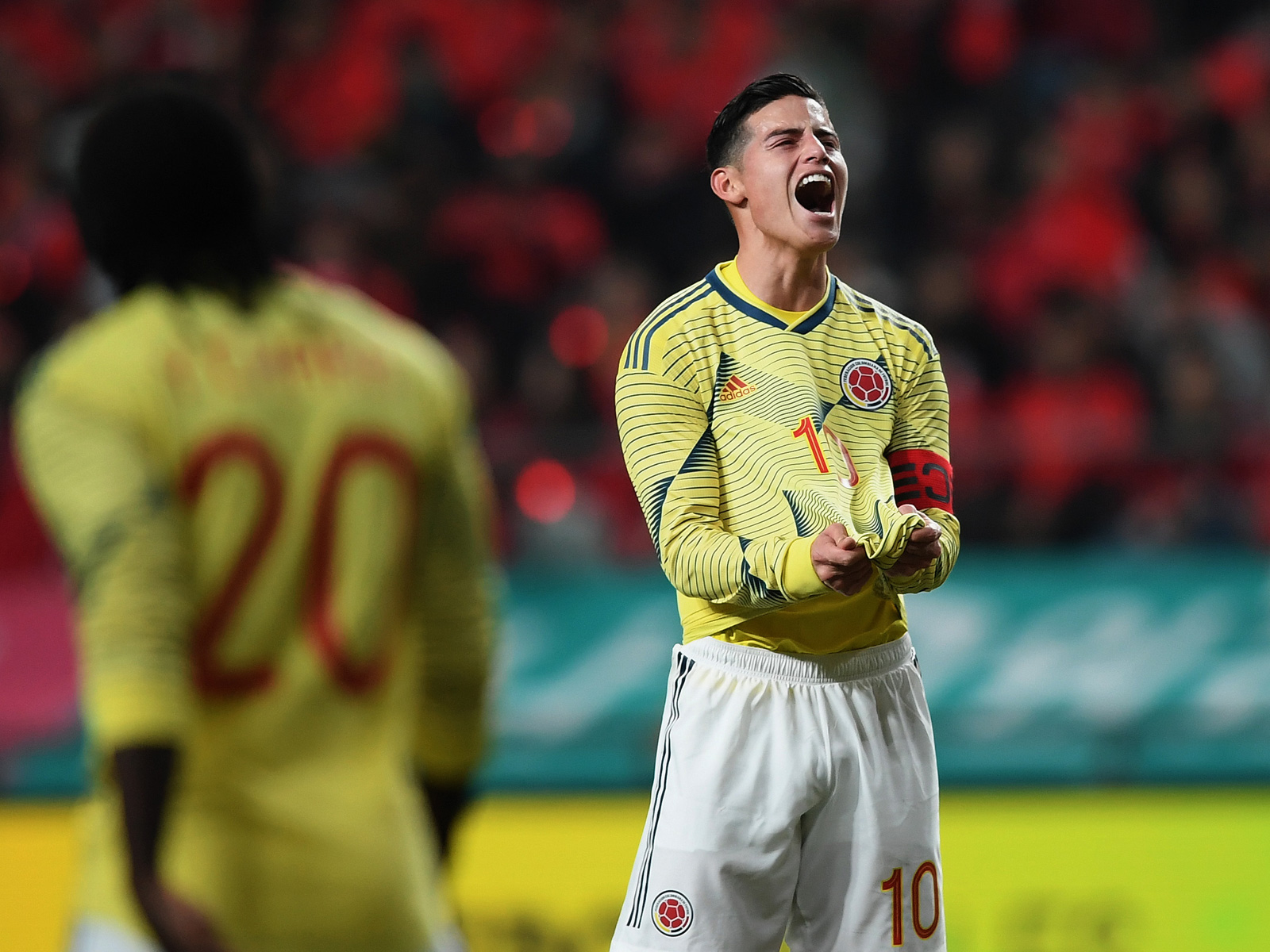 James Rodriguez leads Colombia at Copa America