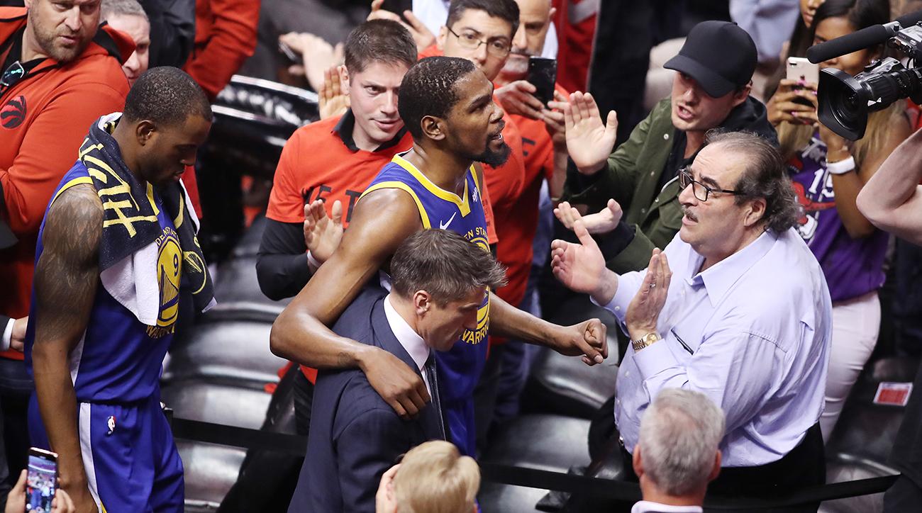 Raptors fan starts GoFundMe for Kevin Durant's charity