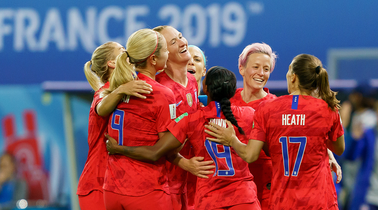 soccer, 2019 womens world cup, uswnt, usa, chile, wire