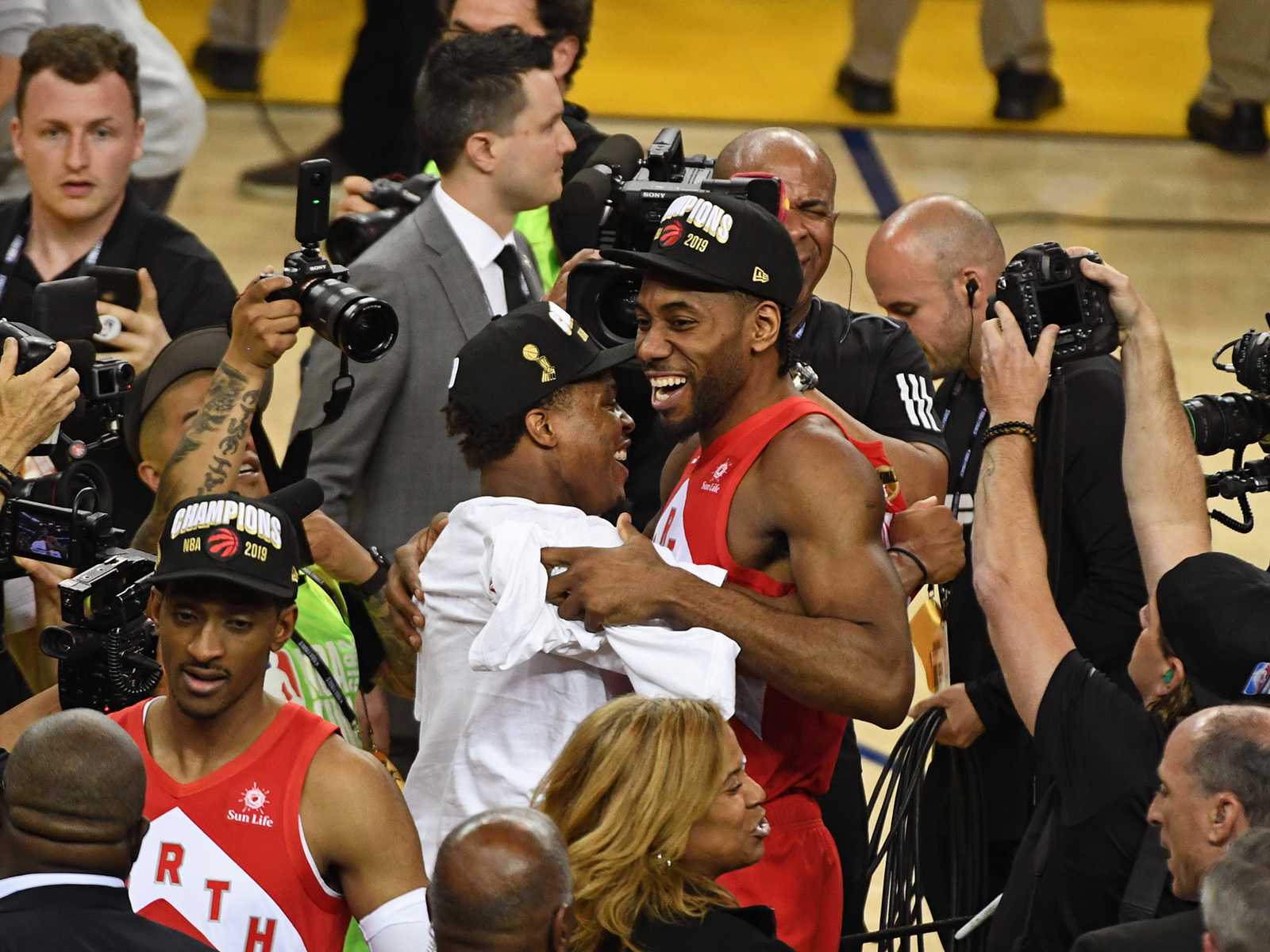 2e91b52cec0 NBA Finals: Kawhi, Masai and the Raptors' legendary win | SI.com