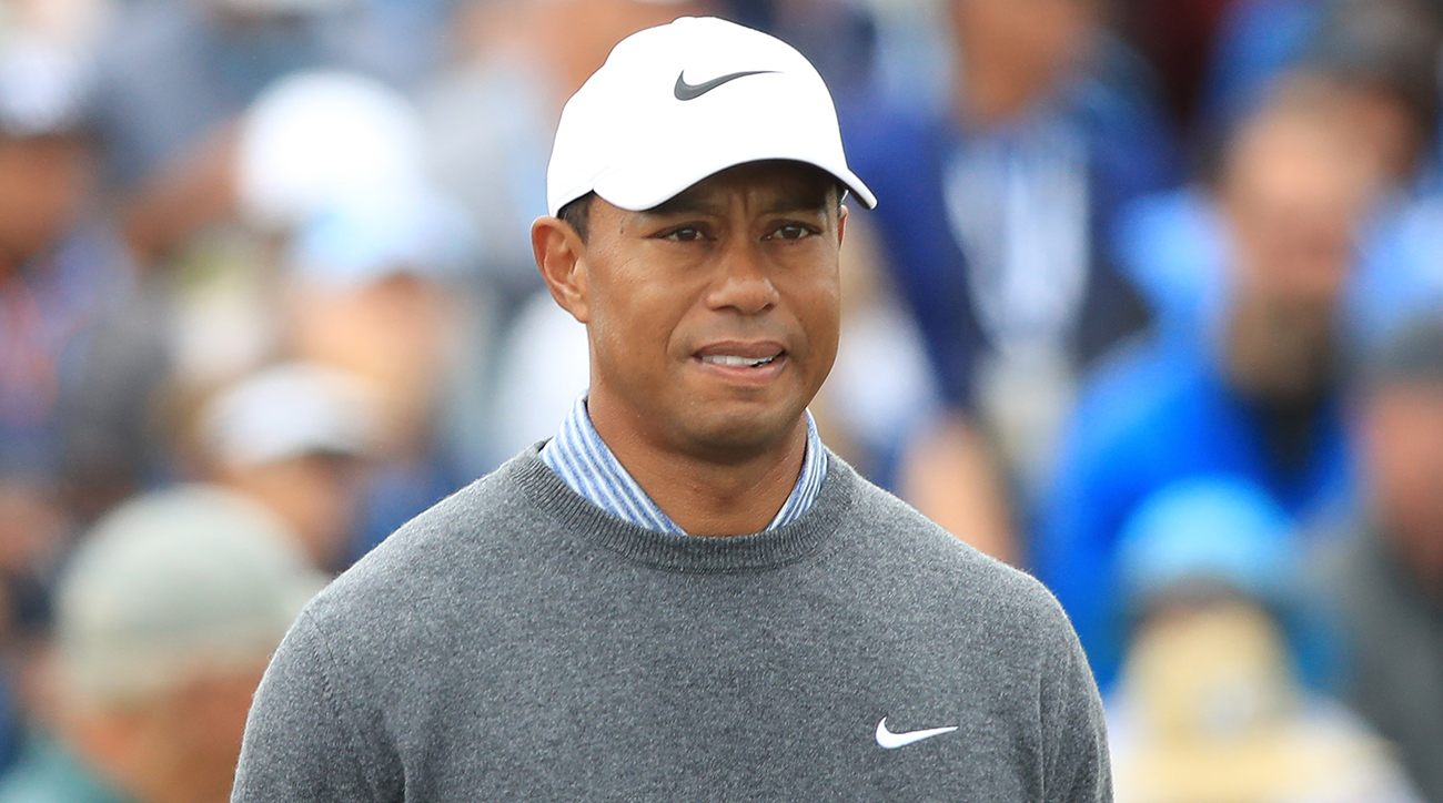 Tiger Woods at 2019 U.S. Open