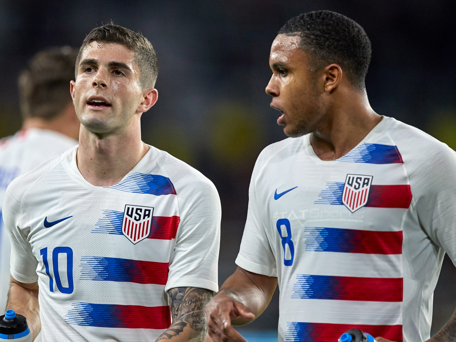 Christian Pulisic and Weston McKennie lead the USA at the Gold Cup
