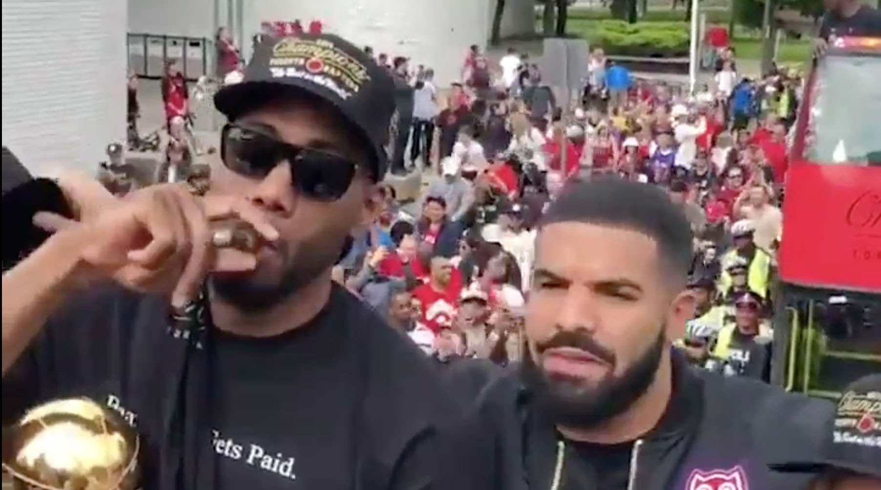 Raptors parade highlights