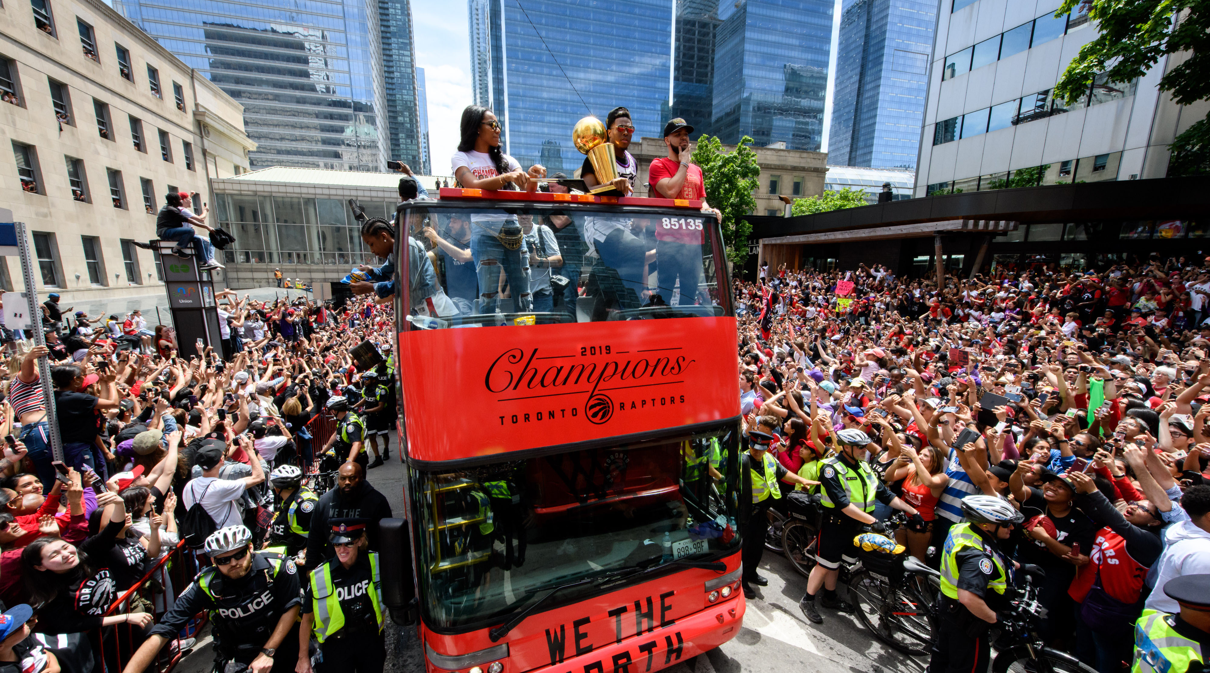 Raptors parade potential shooting