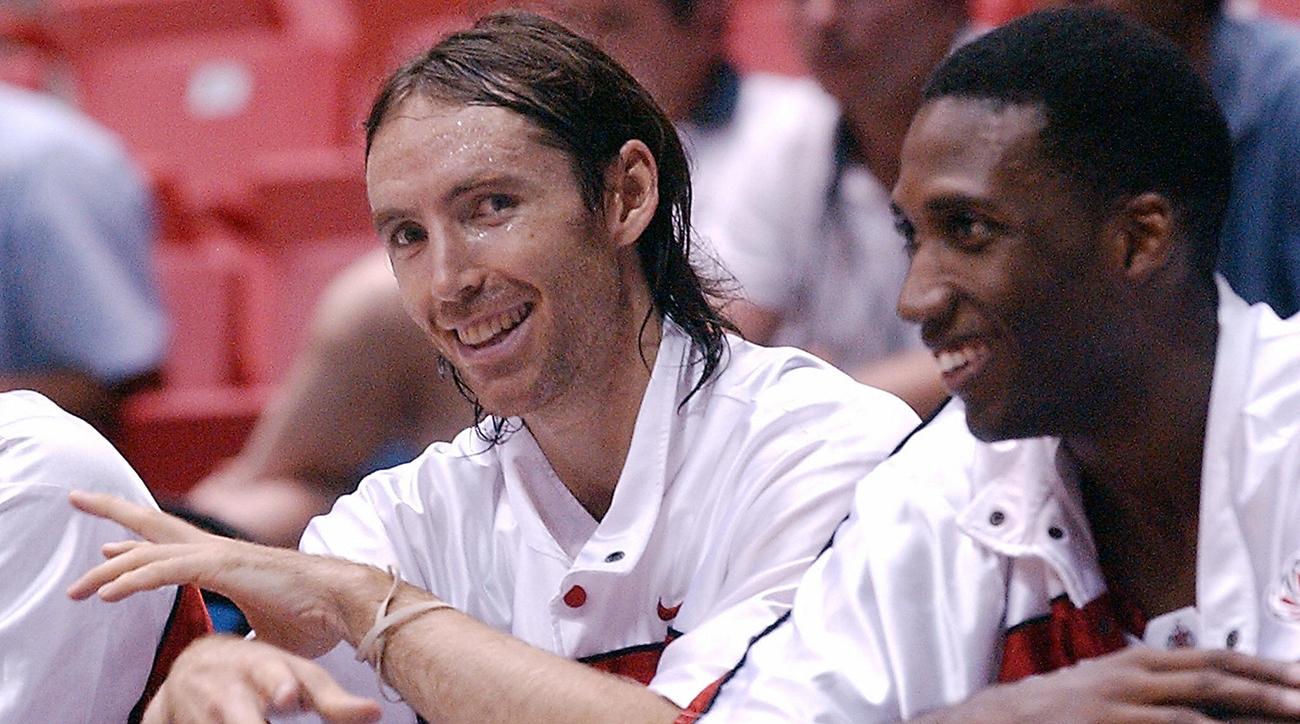 Stephen Nash (L) and Rowan Barrett (R) o