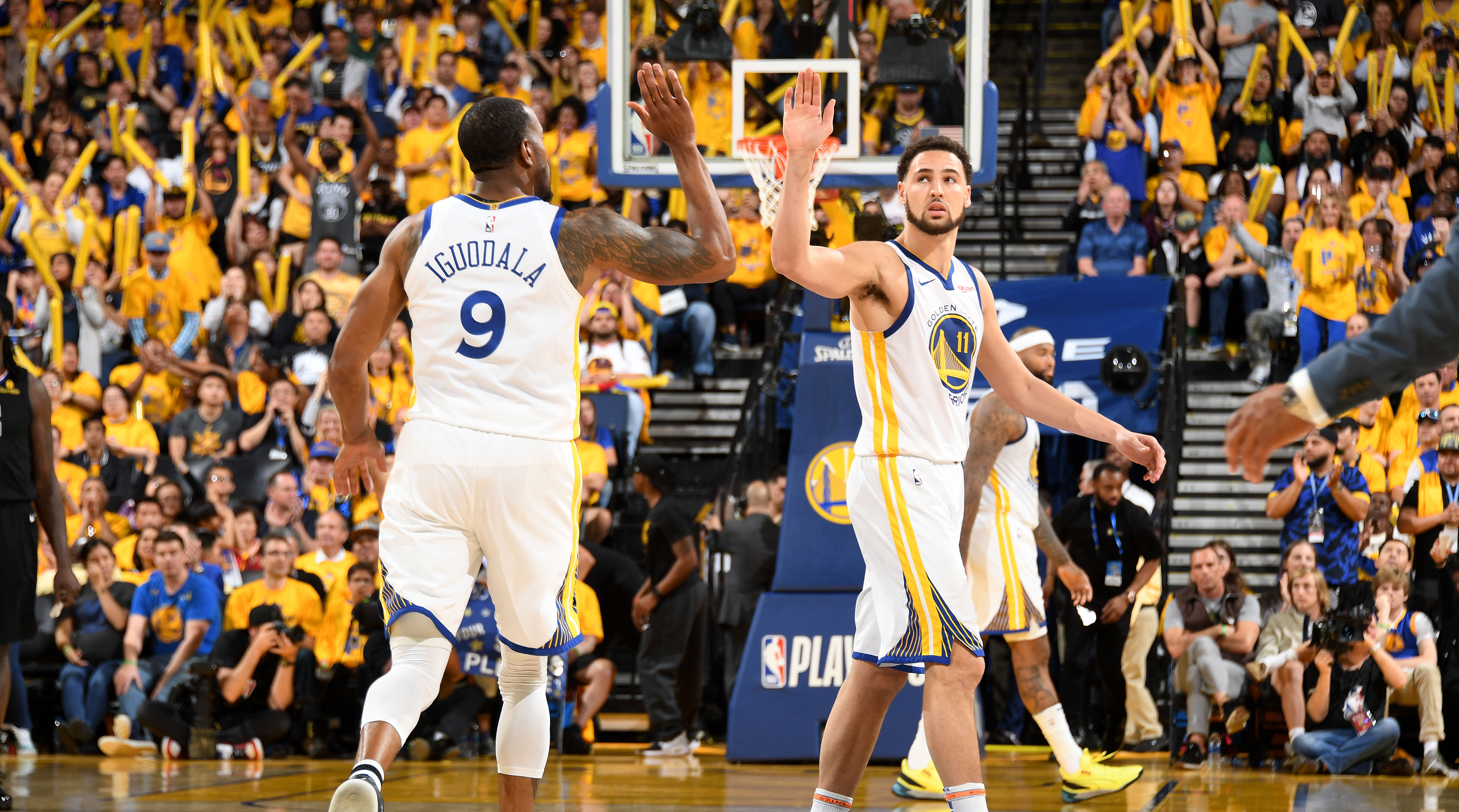 Klay Thompson highest Warriors moment