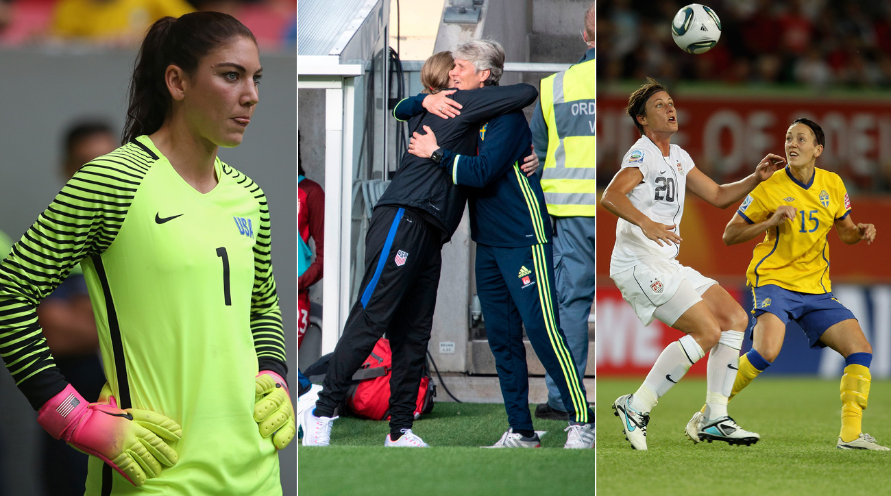 The USA and Sweden have a lengthy history with one another in women's soccer