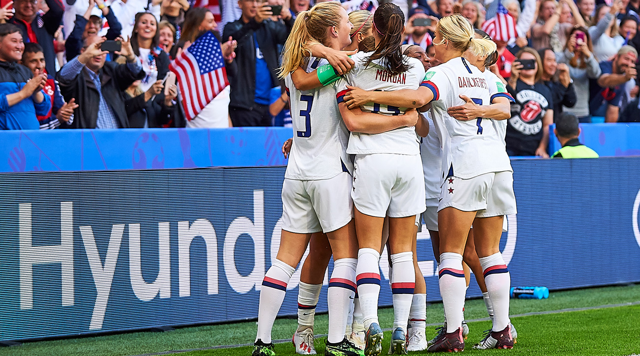 The USWNT beats Sweden to win their Women's World Cup group