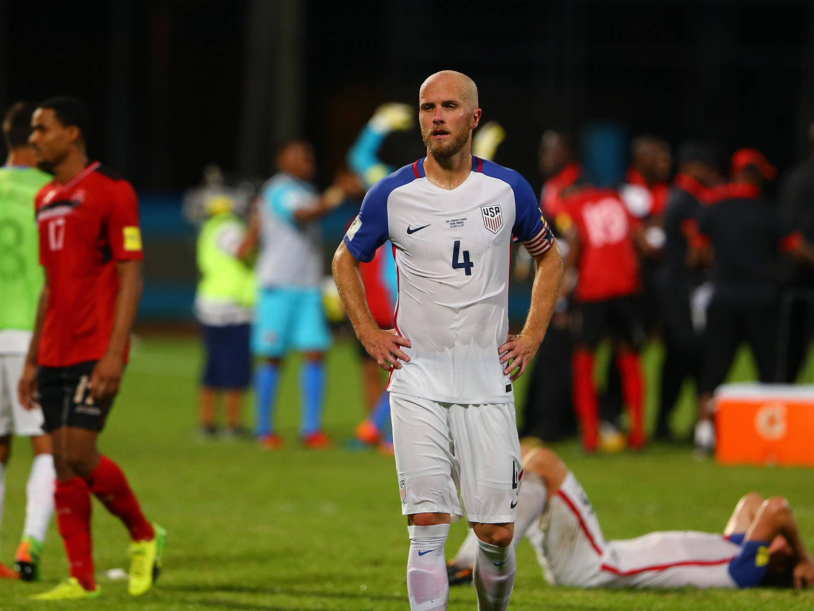 Michael Bradley captained the USA in its infamous loss to Trinidad & Tobago