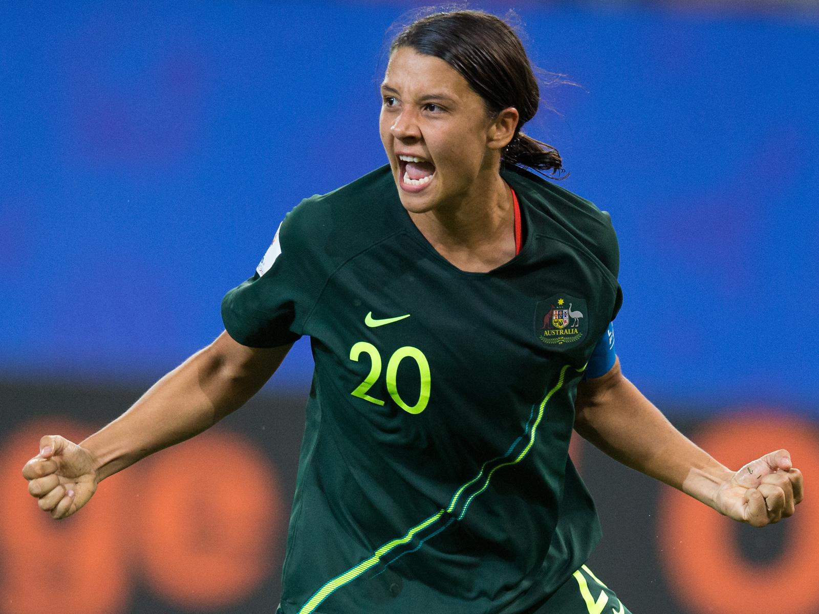 Sam Kerr leads Australia's Women's World Cup team