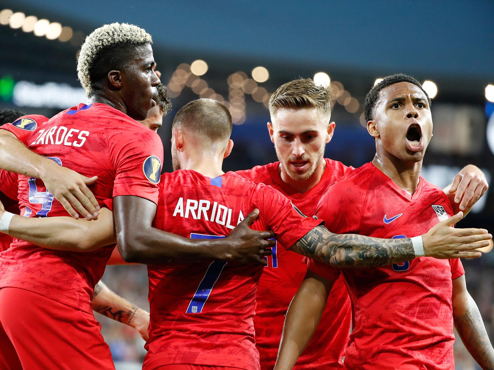 The USA faces Trinidad & Tobago in the Concacaf Gold Cup