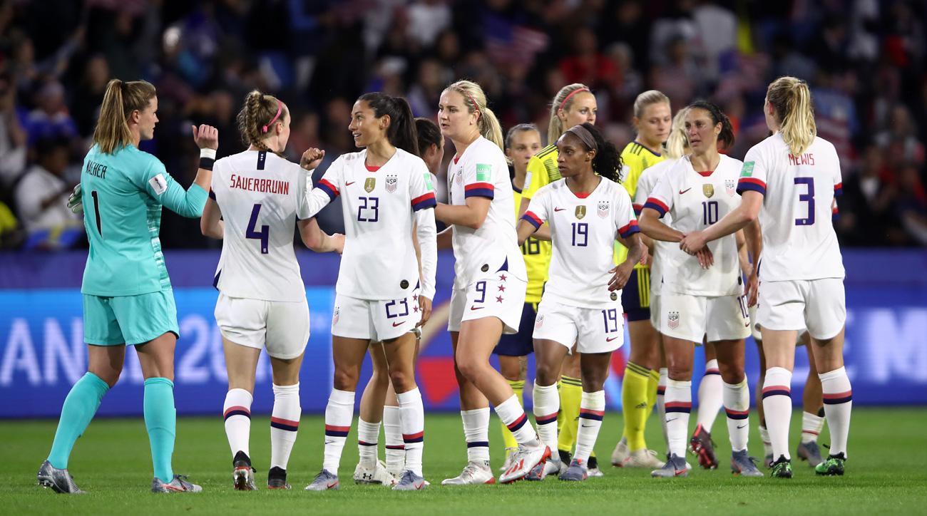 The USWNT sued U.S. Soccer for gender discrimination