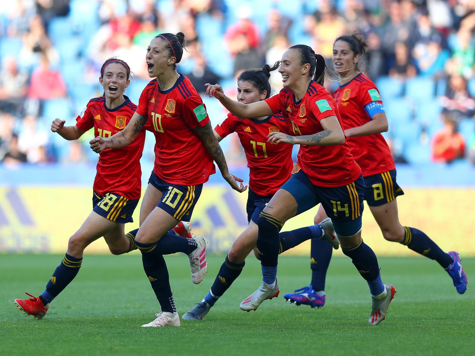 Spain faces the USA in the Women's World Cup round of 16