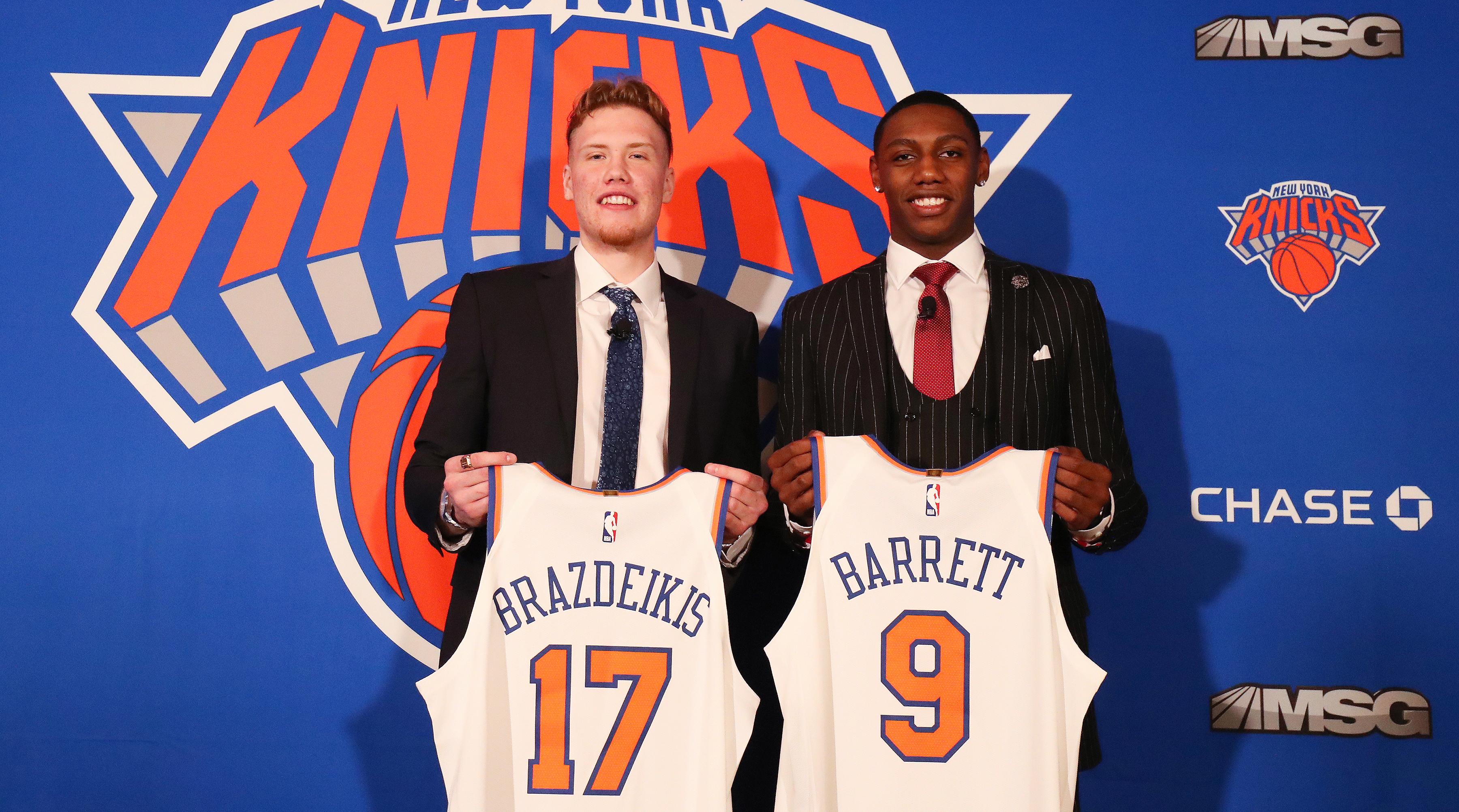 Knicks Post Draft Press