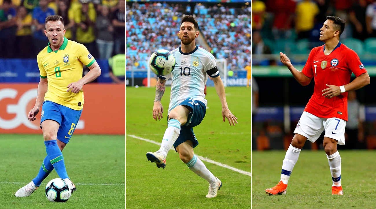 Brazil, Argentina and Chile are all vying to win Copa America