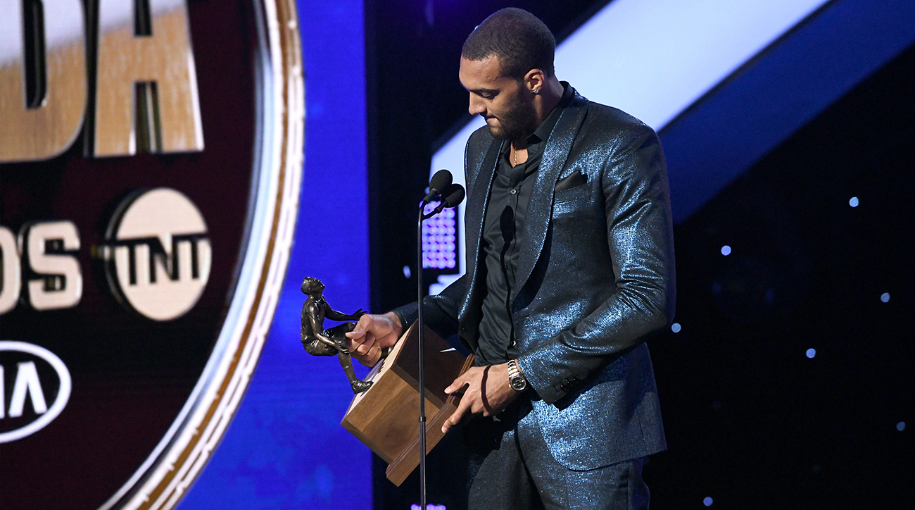 nba, Rudy Gobert, utah jazz, 2019 defensive player of the year, 2019 nba awards, wire