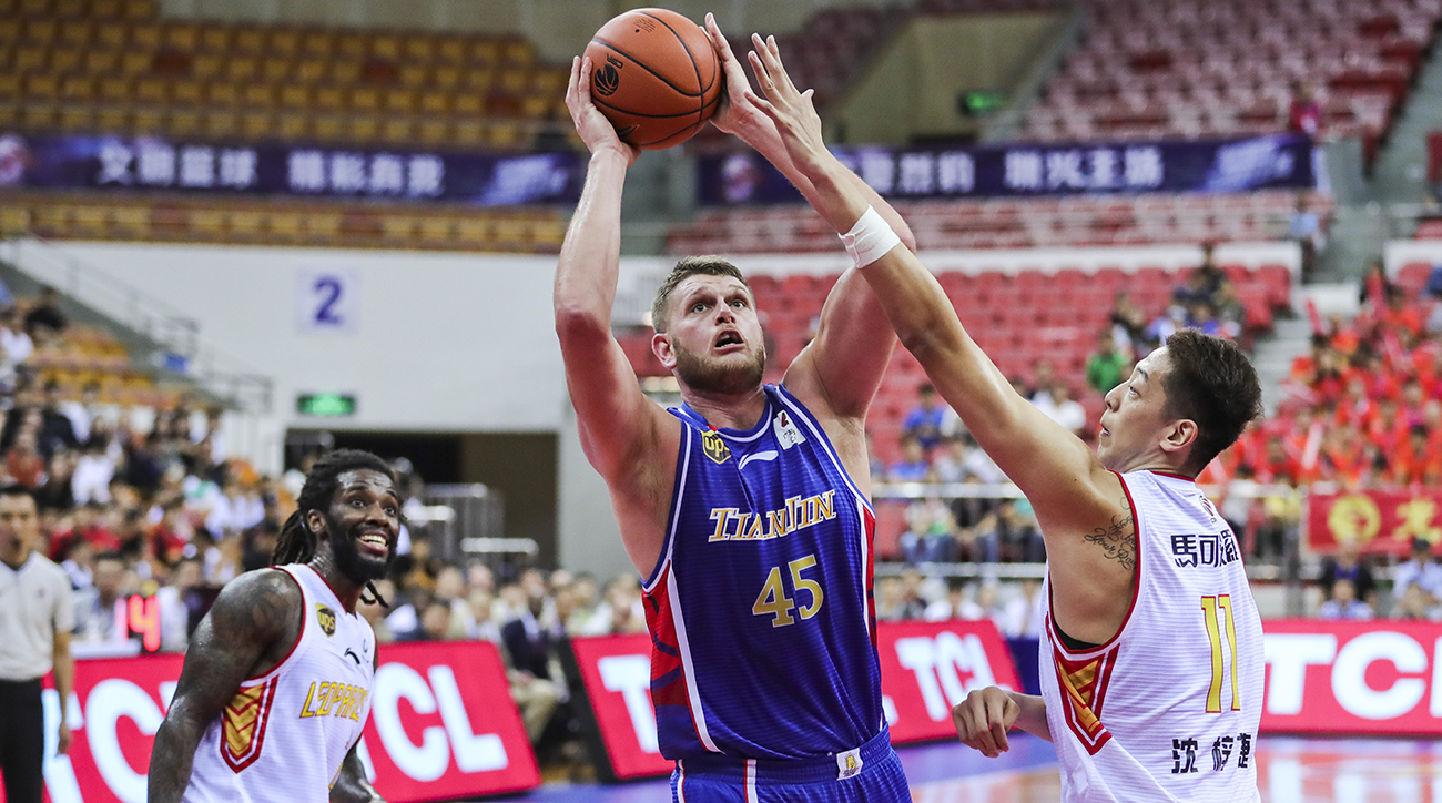Chinese Basketball Association (CBA) League 2018/2019 Tenth Round - Shenzhen Leopards v Tianjin Ronggang Gold Lions