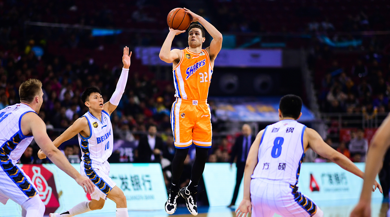 Chinese Basketball Association (CBA) League 2018/2019 Sixth Round - Beijing Shougang Ducks v Shanghai Bilibili Sharks