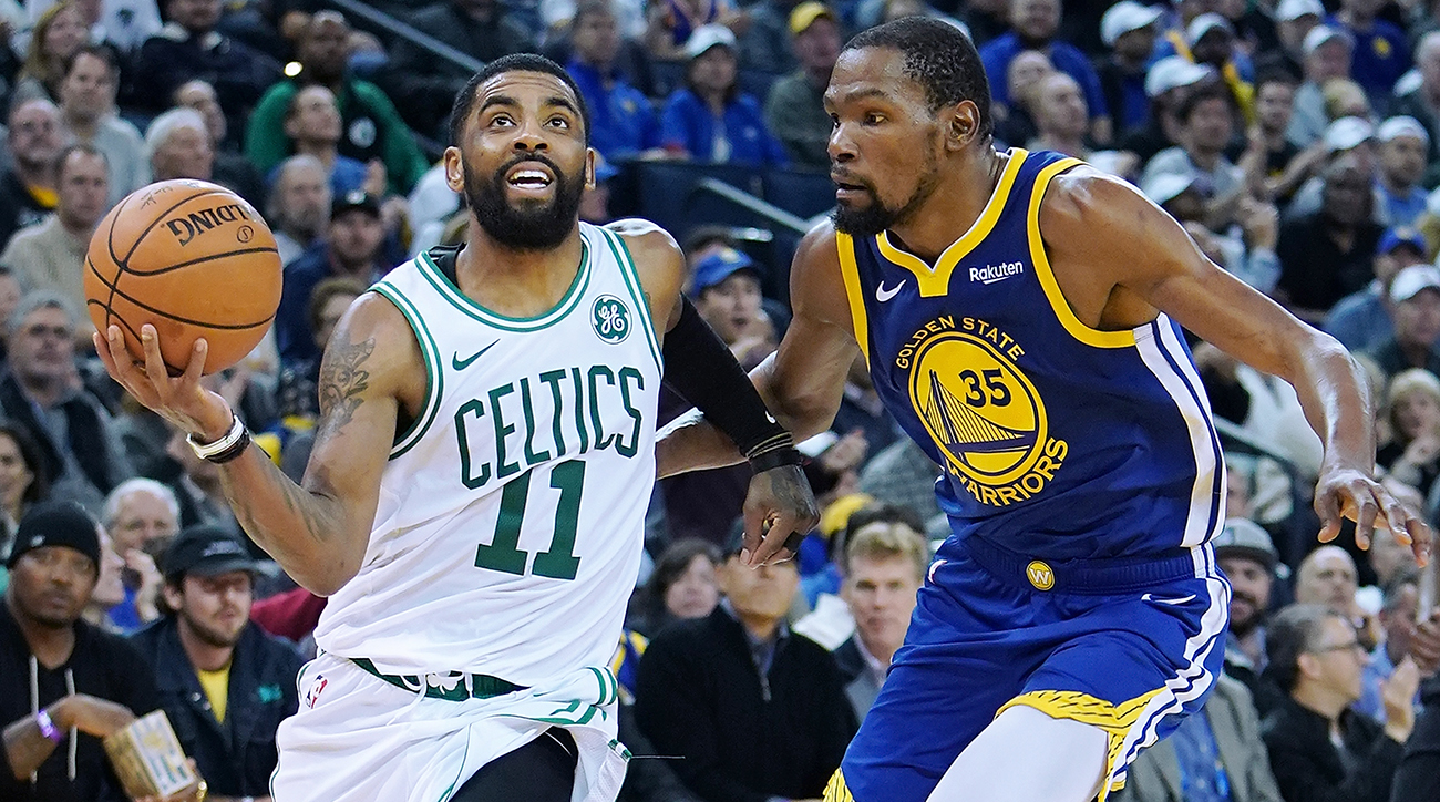 Kyrie Irving and Kevin Durant