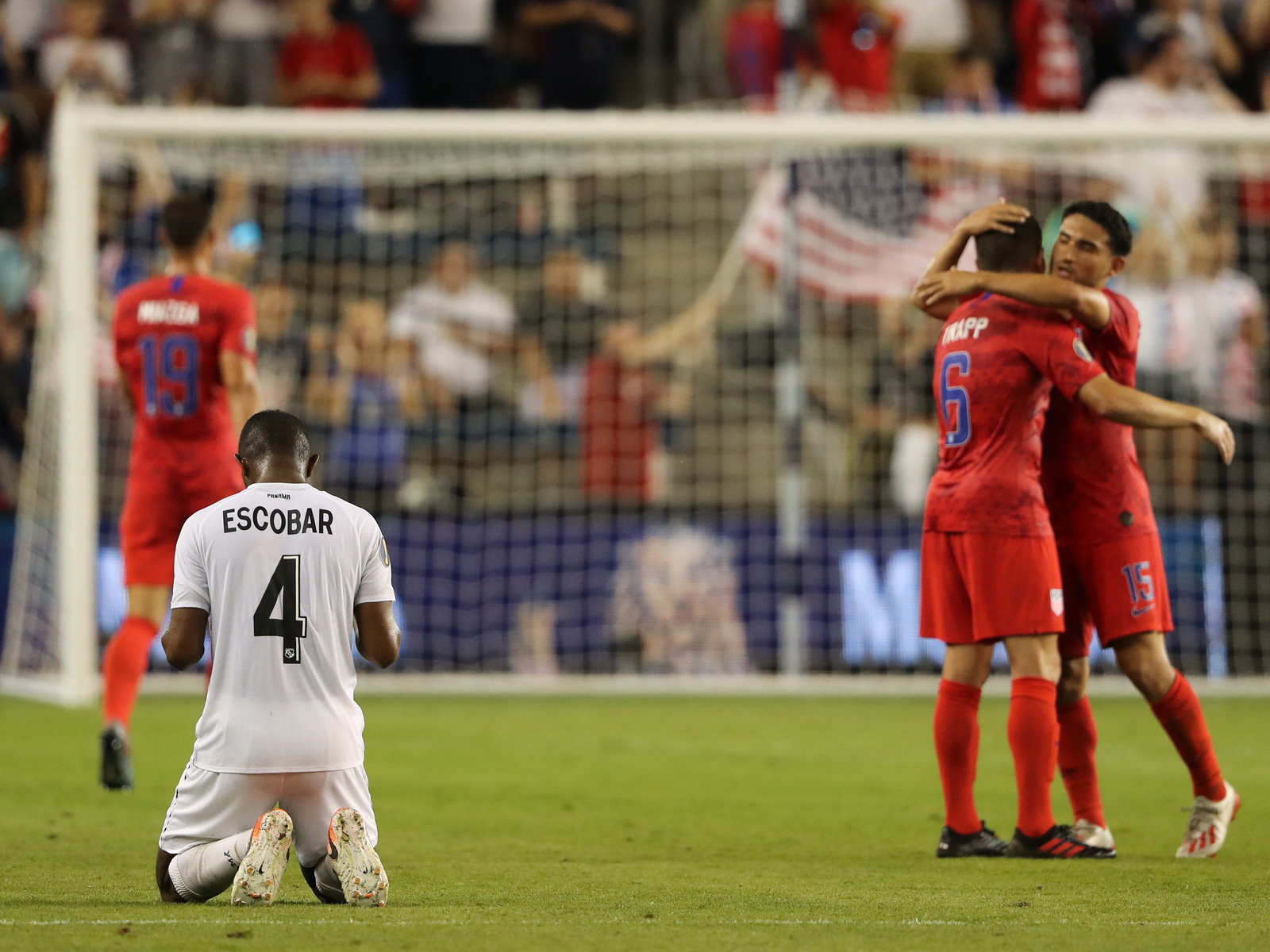 The USA beats Panama in the Gold Cup
