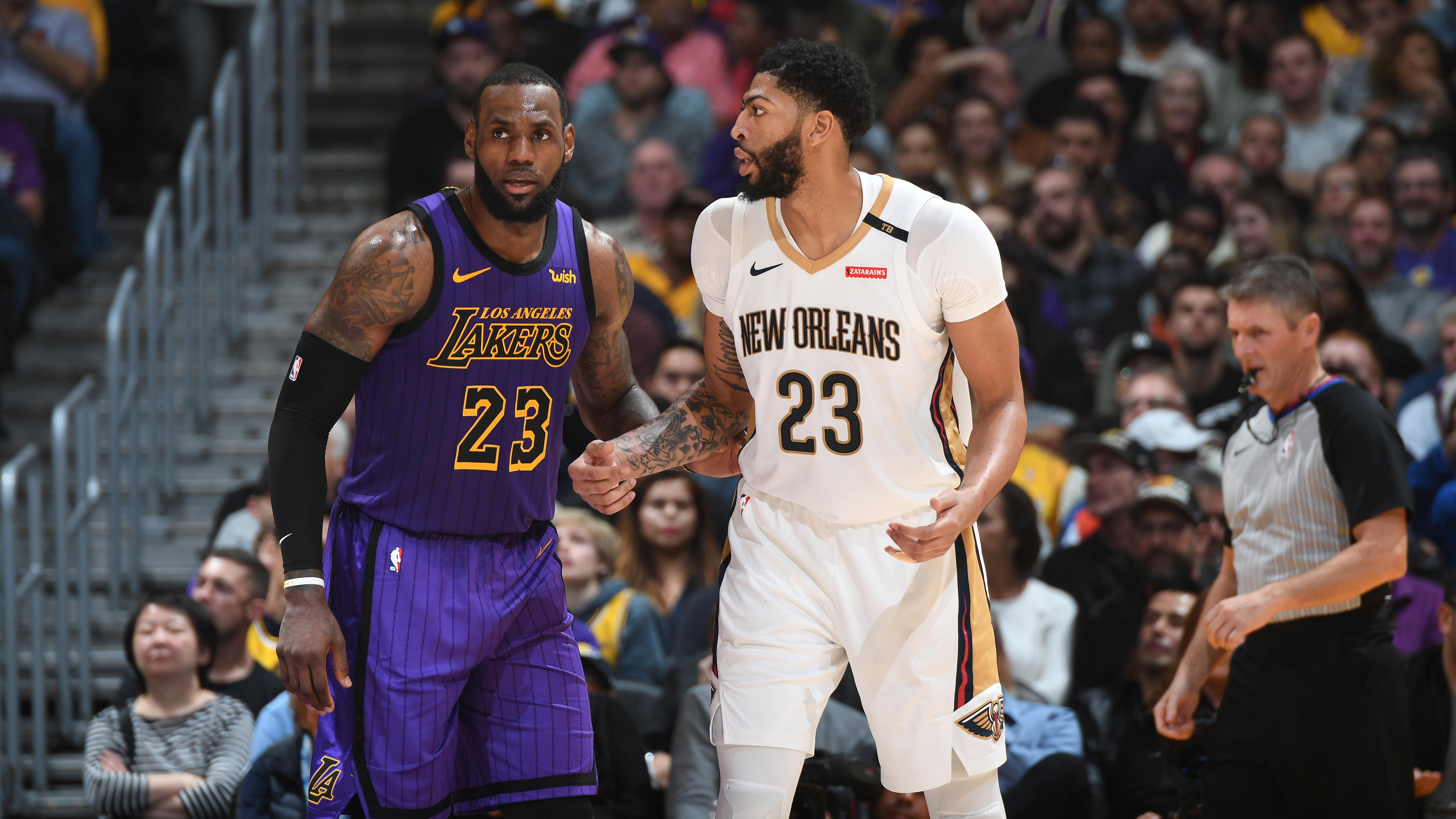 new product acac3 82206 LeBron James to let Anthony Davis wear No. 23 jersey with ...
