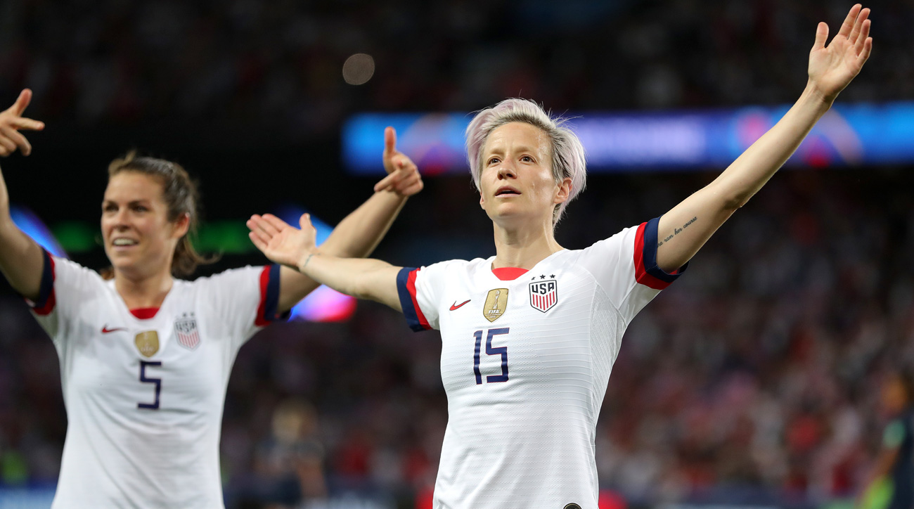 Megan Rapinoe stars for the USA vs. France at the Women's World Cup