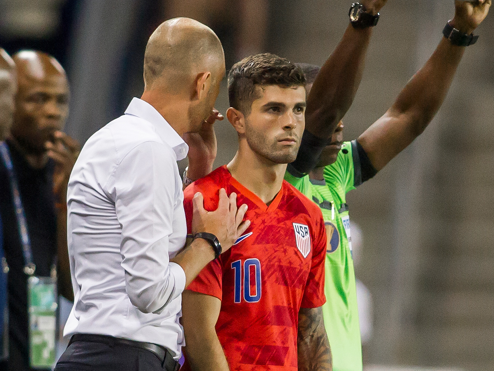 The USA faces Curacao at the Gold Cup