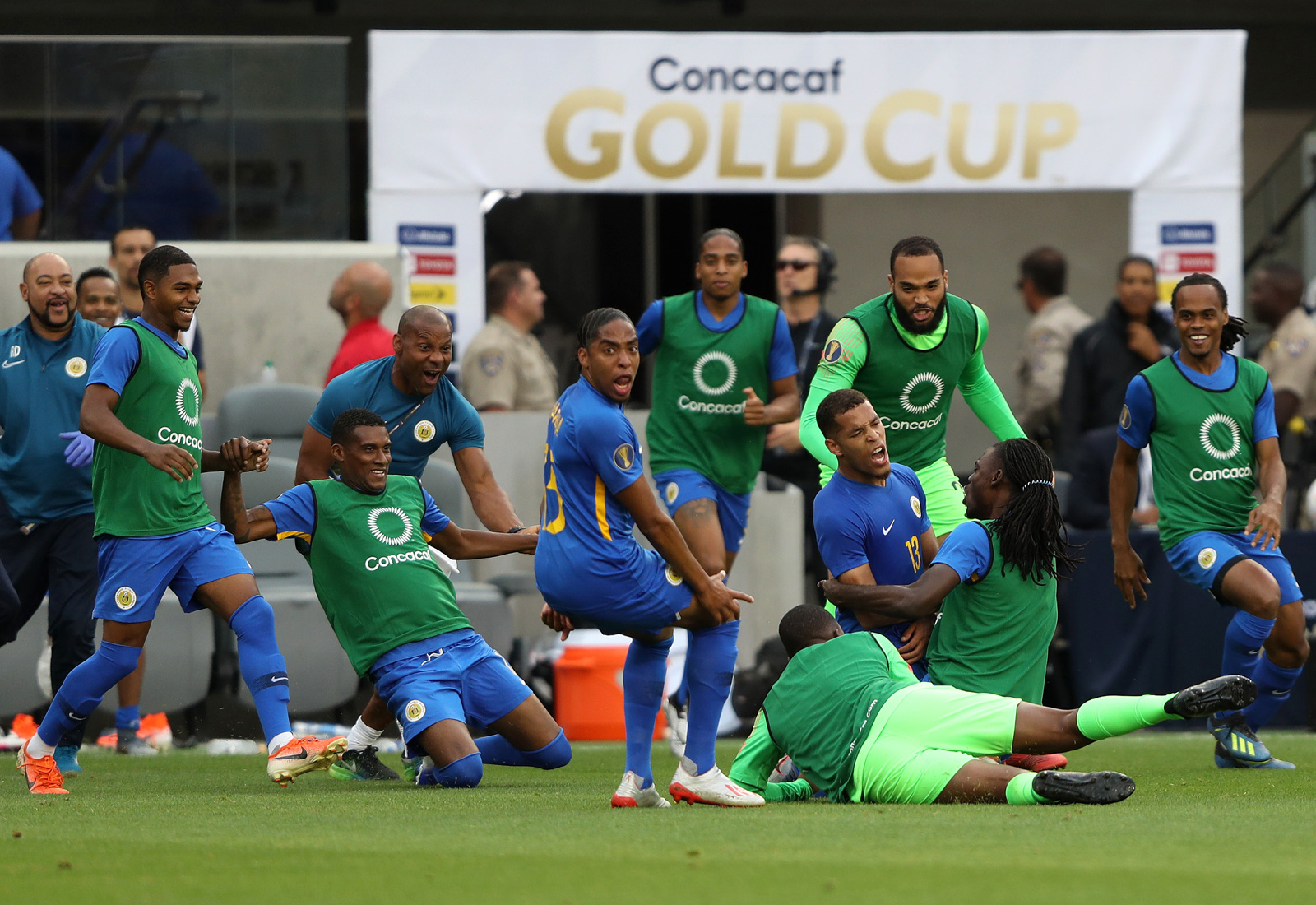 Curacao is through to the Gold Cup quarterfinals