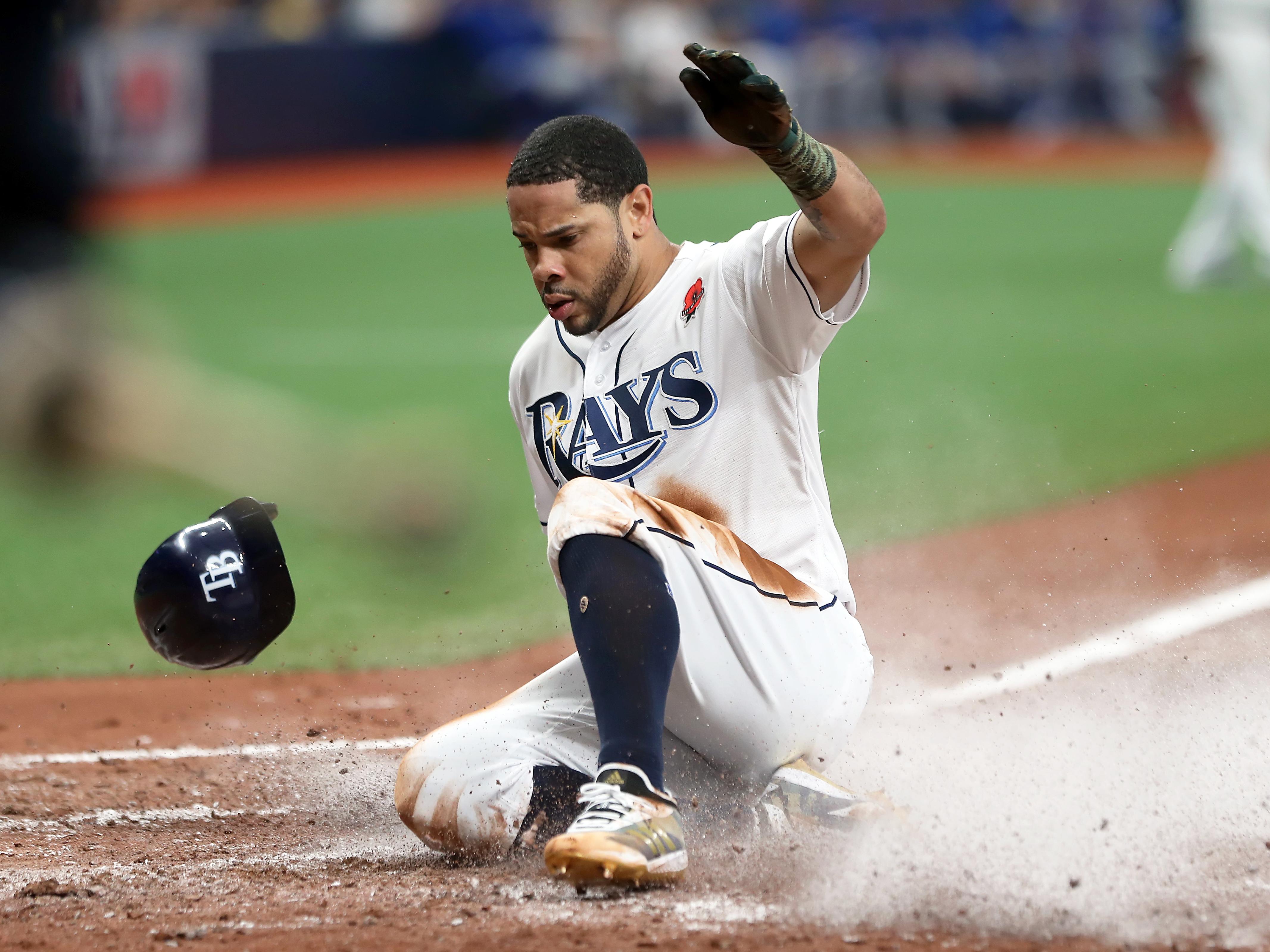 MLB: MAY 27 Blue Jays at Rays