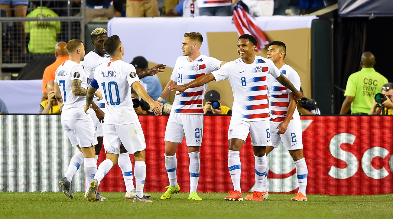 The USA beats Curacao in the Gold Cup quarterfinals