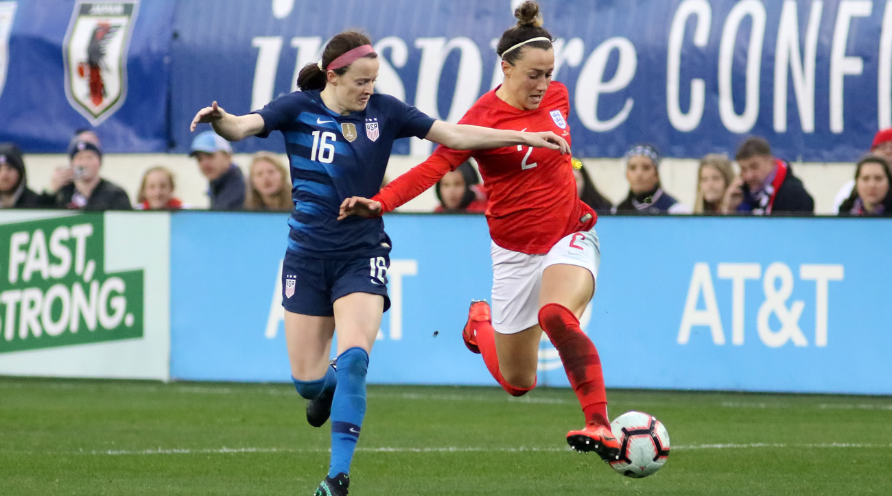 The USA and England meet in the Women's World Cup semifinals