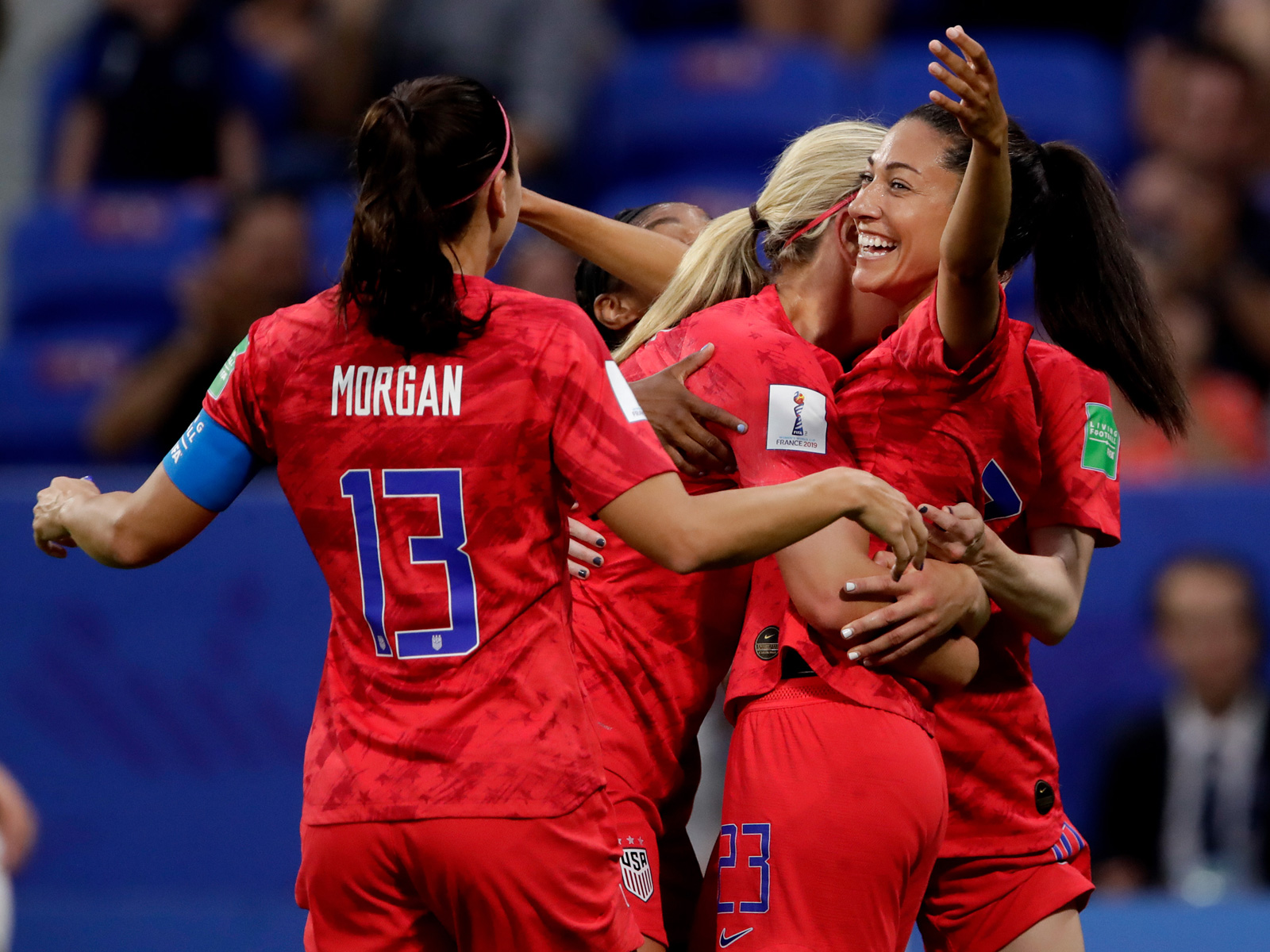 The USA beats England to return to the Women's World Cup final