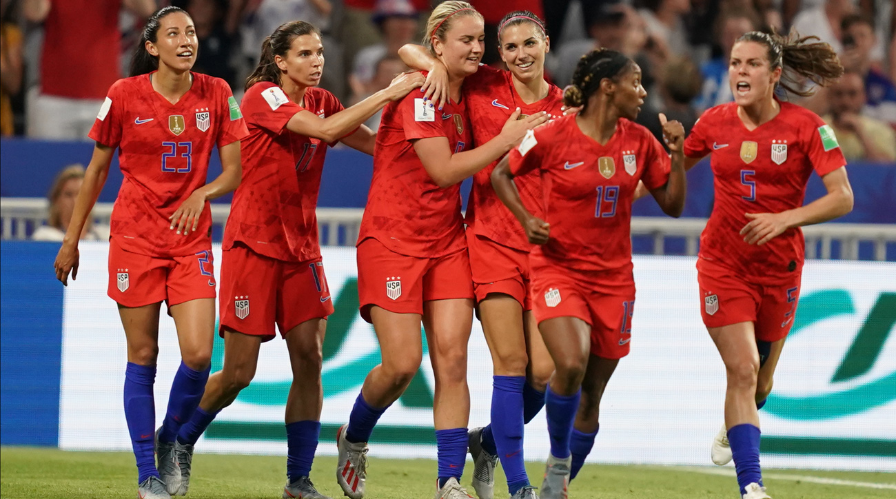 The U.S. women's national team will play for the Women's World Cup title