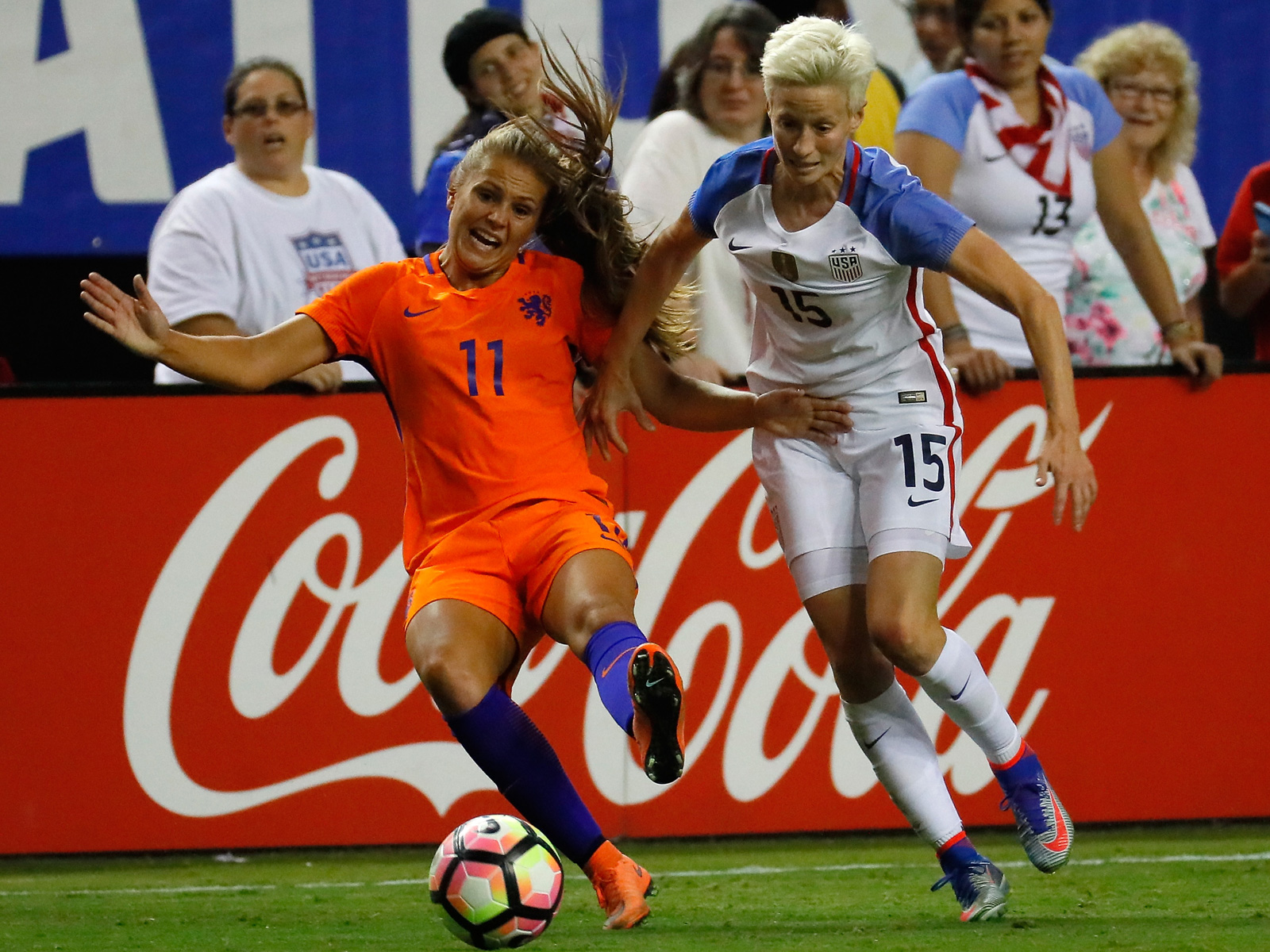 The USA will face the Netherlands in the Women's World Cup final