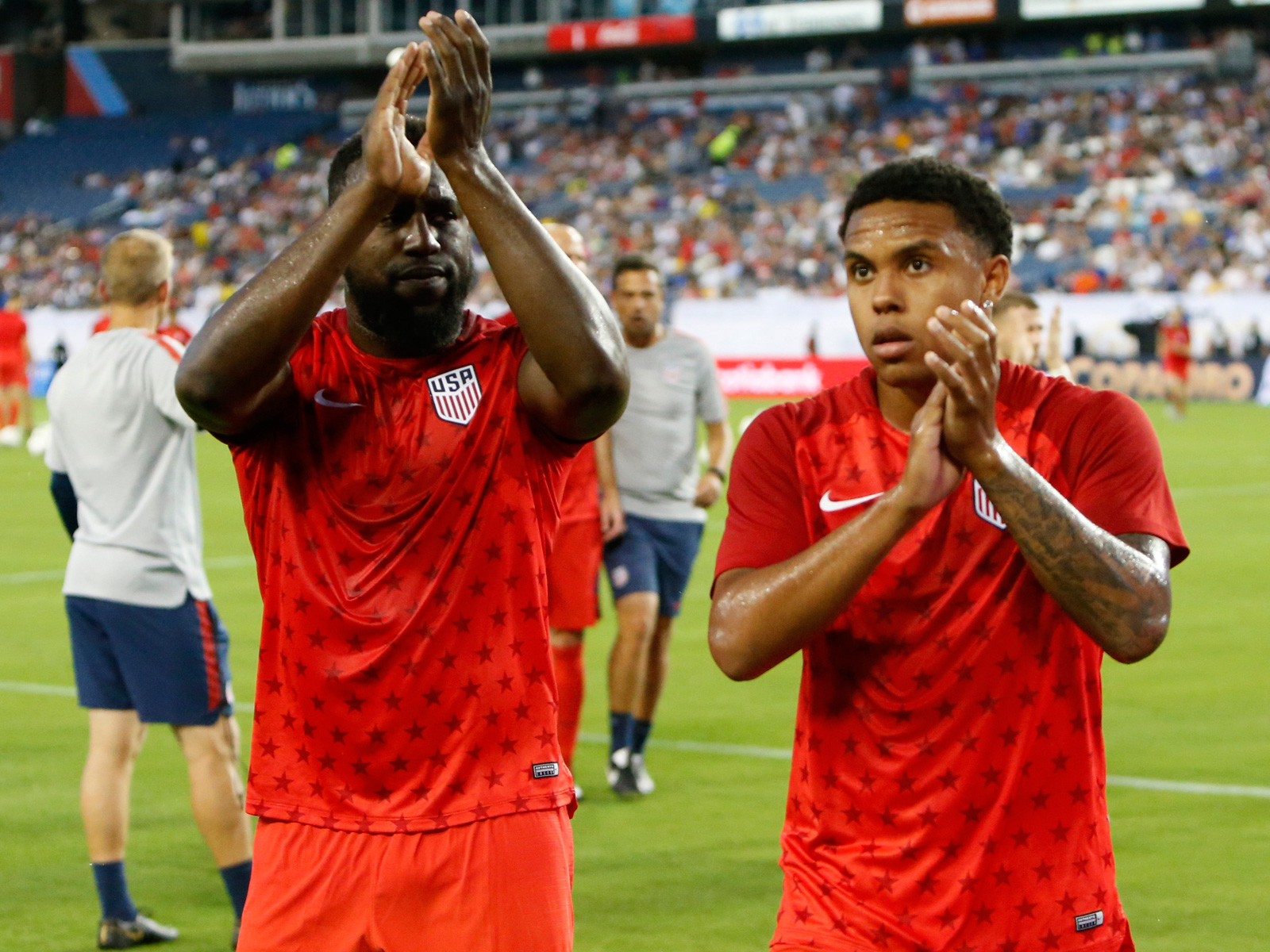 Jozy Altidore and Weston McKennie star for the USA in the Gold Cup vs. Jamaica
