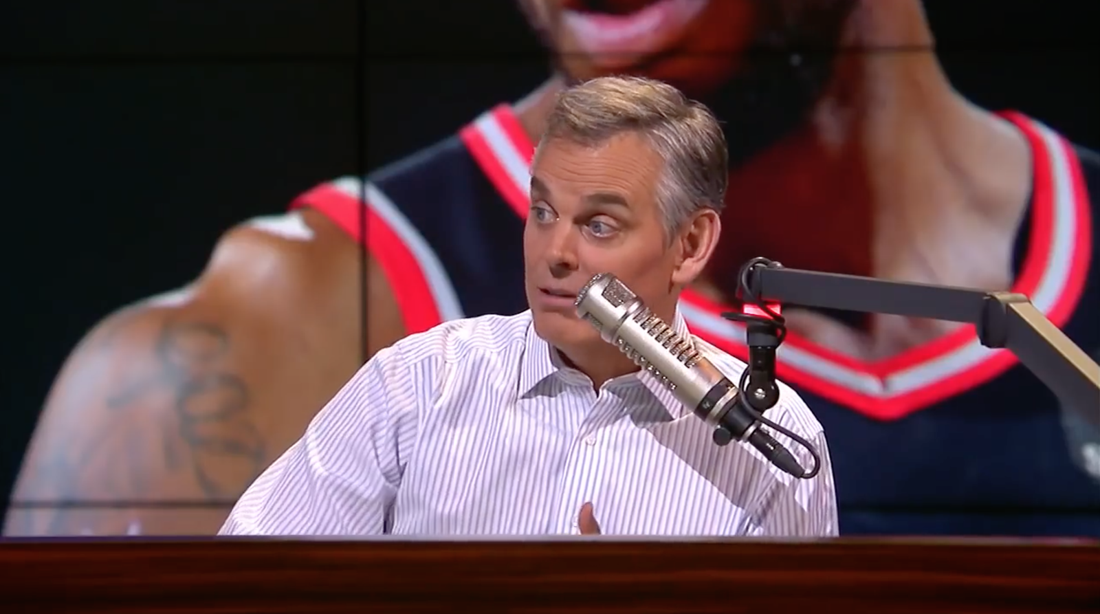 "LA earthquake hits during Colin Cowherd's ""The Herd"" (video)"