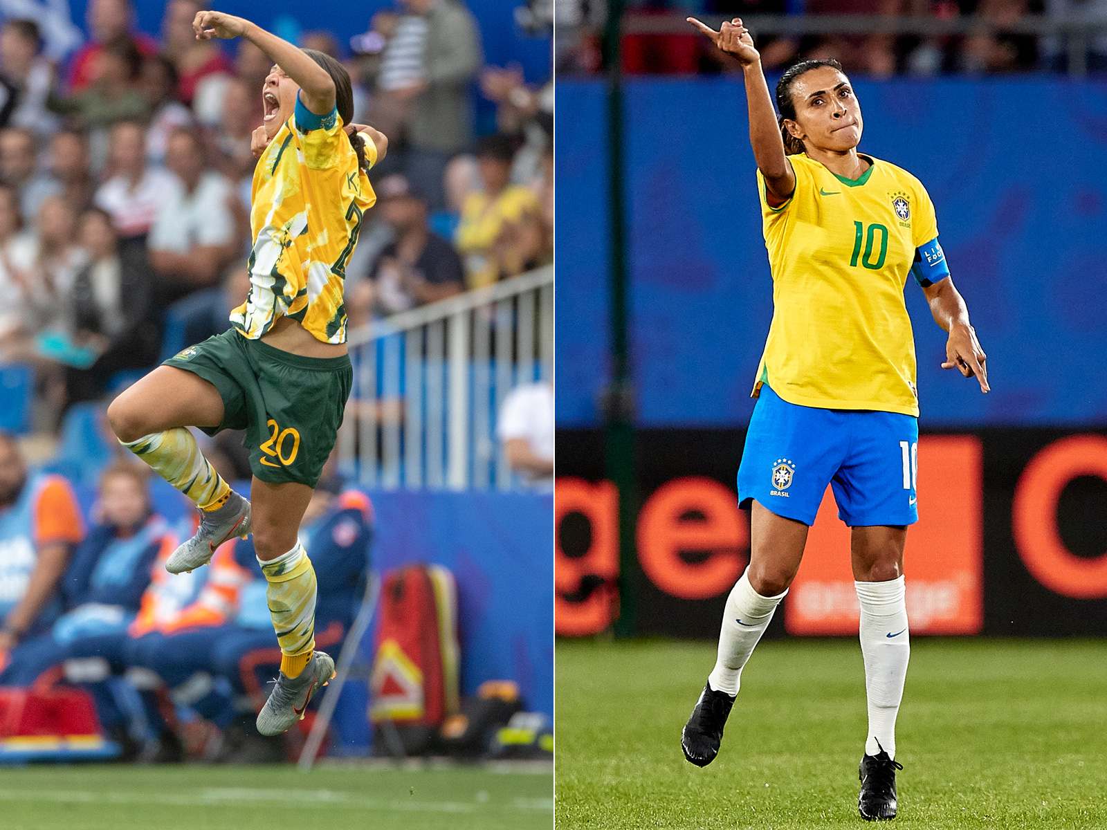 Sam Kerr and Marta star in the NWSL