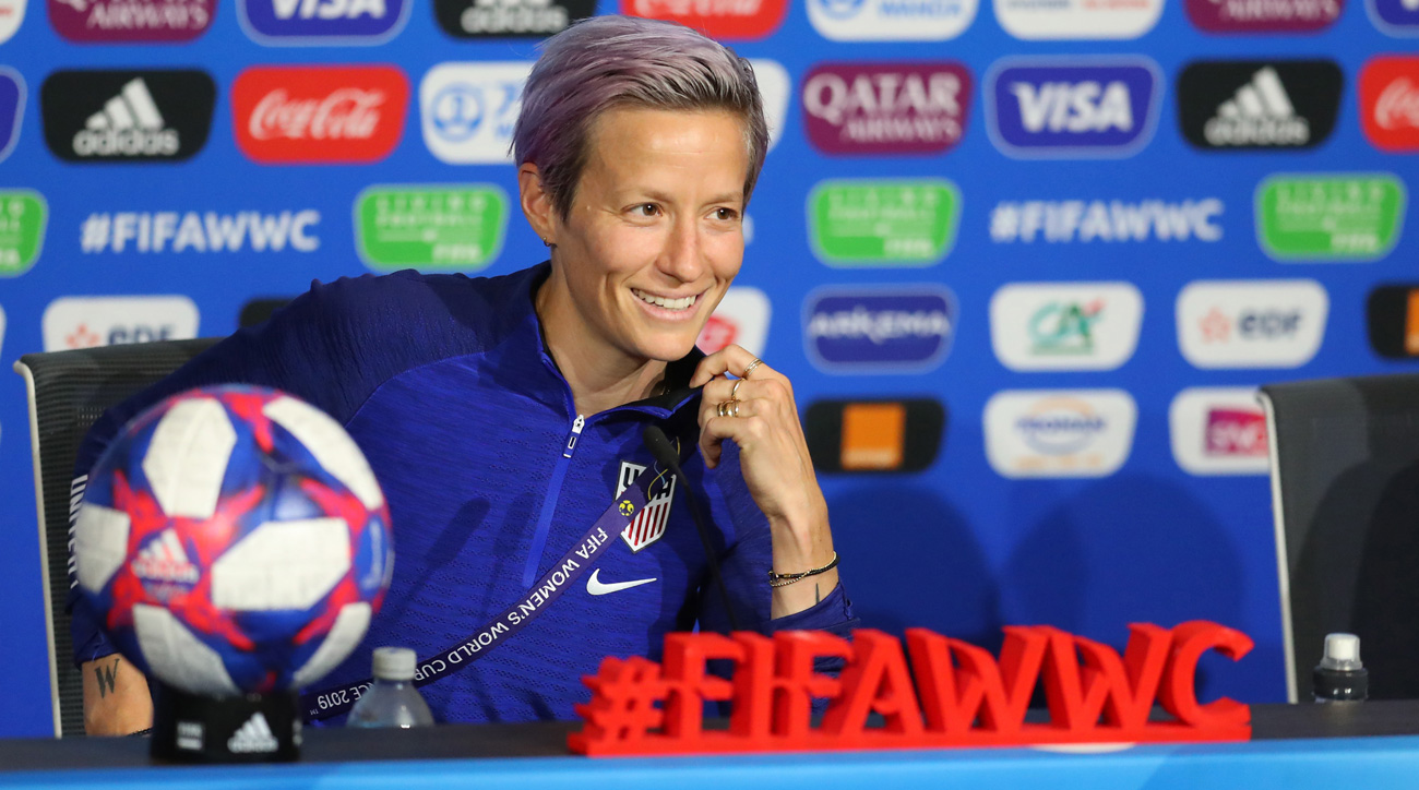 Megan Rapinoe should be recovered to play in the Women's World Cup final