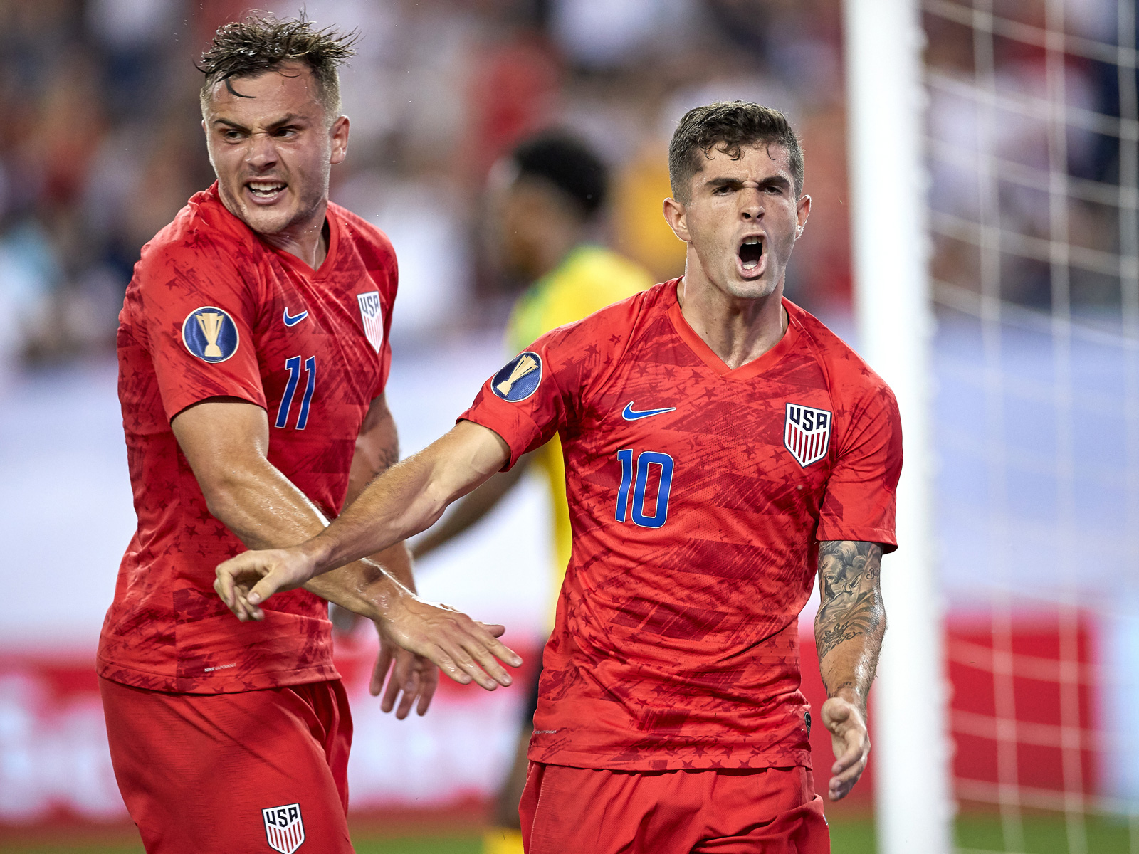 Jordan Morris and Christian Pulisic star for the USA at the Gold Cup