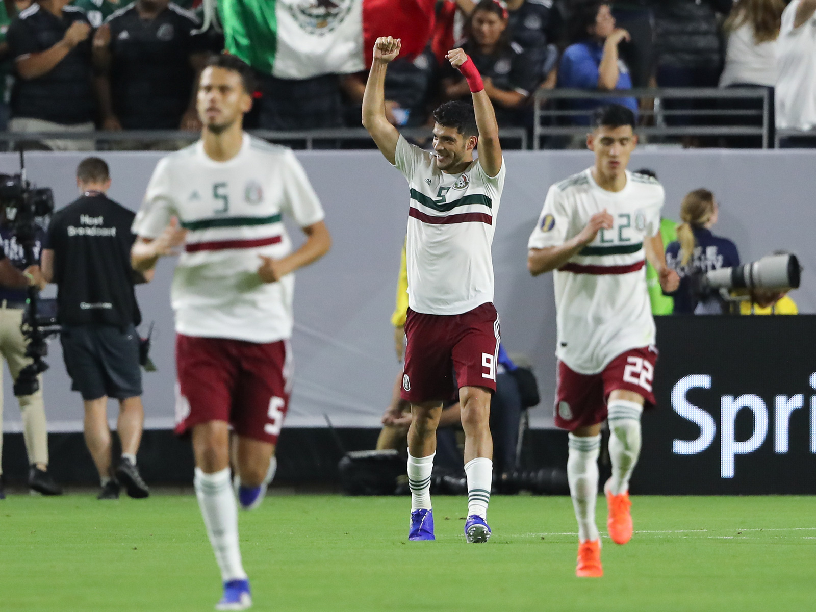 Raul Jimenez leads Mexico in the Gold Cup final